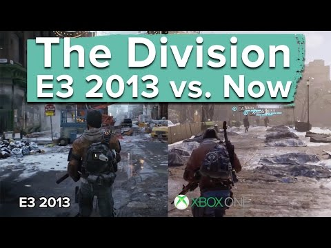 The Division: E3 2013 vs. Now - graphics and gameplay comparison - UCciKycgzURdymx-GRSY2_dA