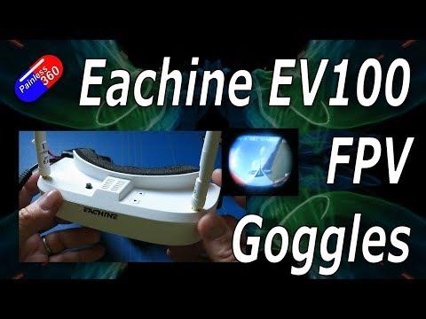 RC Review: £120 Eachine EV100 FPV Goggles - UCp1vASX-fg959vRc1xowqpw
