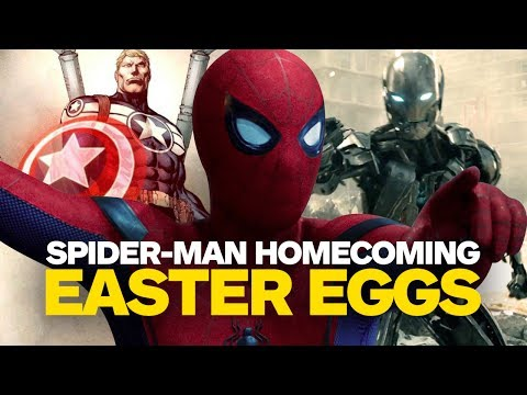 Spider-Man: Homecoming Easter Eggs and References - UCKy1dAqELo0zrOtPkf0eTMw