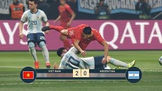 PES 19 | FIFA WORLD CUP | VÒNG BẢNG TRẬN 1 | VIETNAM vs ARGENTINA - Giấc mơ Bóng Đá VIỆT NAM