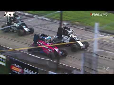 LIVE: USAC Midget Heat Races | USAC Eastern Midget Week at Grandview Speedway - dirt track racing video image
