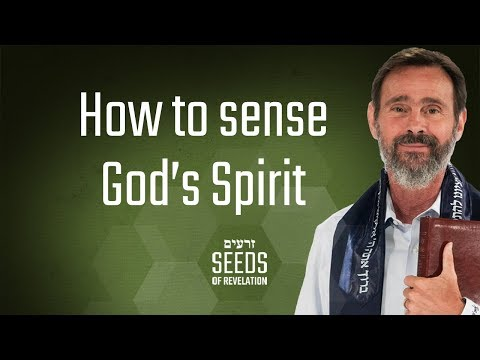 How to sense God's Spirit