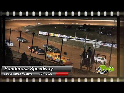 Ponderosa Speedway - Super Stock Feature - 11/1/2021 - dirt track racing video image