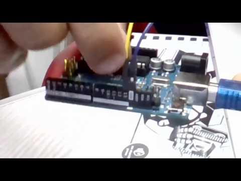 4 المثال الاول عملي ونظري Blink led