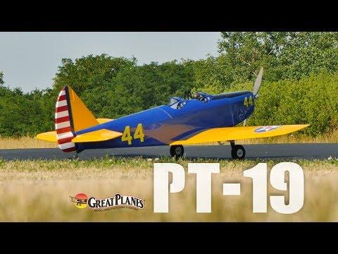 Great Planes PT-19: Raw Performance - UCa9C6n0jPnndOL9IXJya_oQ
