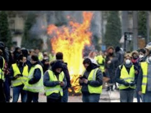 Breaking France Is In Free Fall Yellow Vest Protest