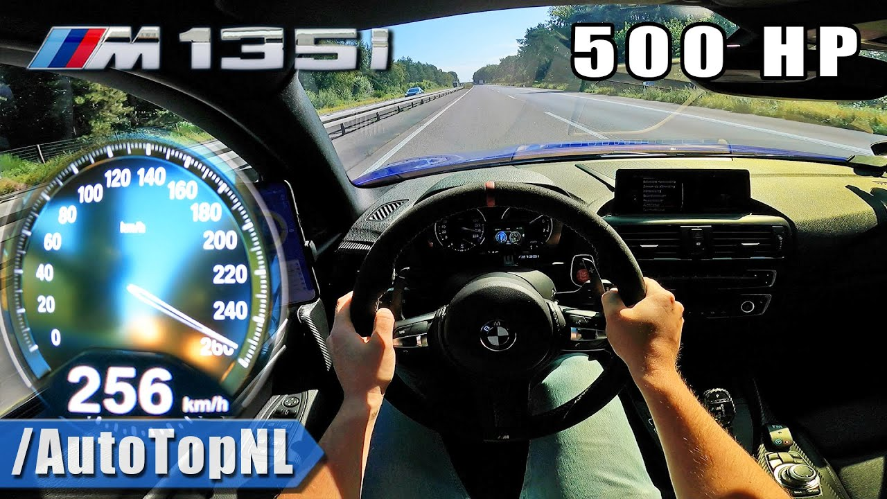 500HP BMW M135i xDrive F20 on AUTOBAHN [NO SPEED LIIMIT] by AutoTopNL