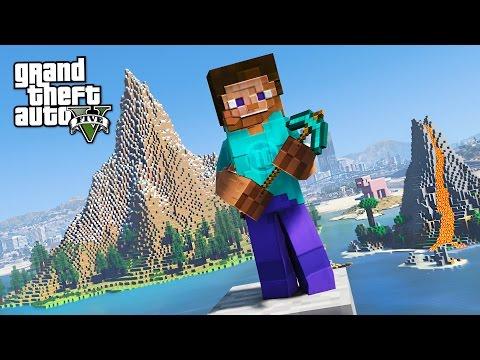 GTA 5 Mods - PLAYING MINECRAFT IN GTA 5 MOD!! GTA 5 Minecraft Mod Gameplay! (GTA 5 Mods Gameplay) - UC2wKfjlioOCLP4xQMOWNcgg