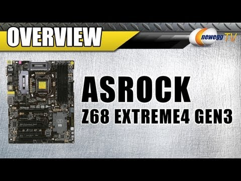 Newegg TV: ASRock Z68 EXTREME4 GEN3 Motherboard Overview - UCJ1rSlahM7TYWGxEscL0g7Q