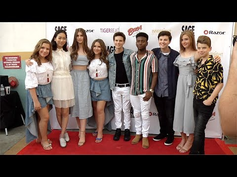 """Sage Alexander: The Dark Realm"" Launch Party Red Carpet Cast Arrivals - UCybF_bgvjVTAPIm8HT-TNdQ"