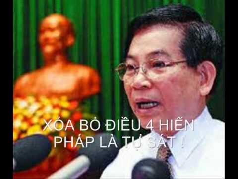 CùHHVũ:Nguyễn Minh Triết  tự sát nếu bỏ điều 4 HP.wmv