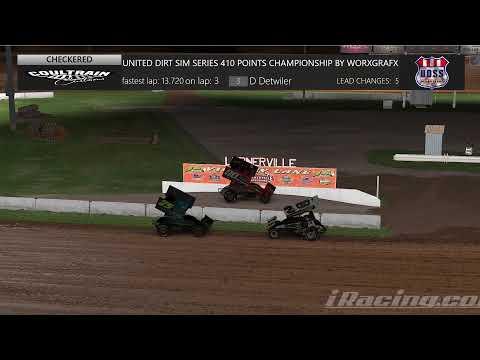 UDSS 410 Points Championship Brought to you by WorxGrafx - dirt track racing video image