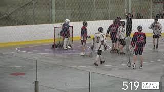 Minor Lacrosse (Midget) - Guelph Regals vs K-W Braves