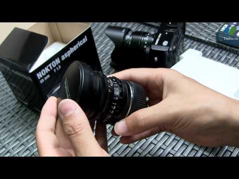 Đập hộp ống kính Nokton 50 f/1.5
