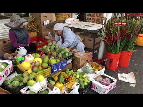 Chiều 28 Tết ở chợ ABC, Little Saigon