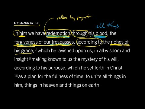 Ephesians 1:710 // Part 3 // How the Cross Secures Our Resurrection