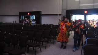 Fans flock to FSCW Arena for Fantasy Super Cosplay Wrestling at Florida Supercon 2019 Miami