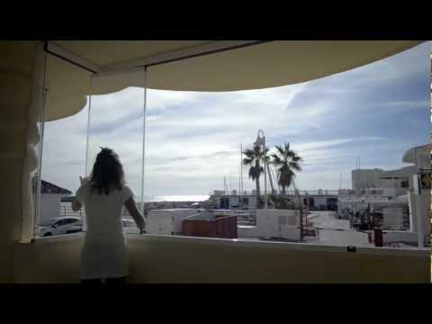 Vetrate panoramiche senza profili verticali
