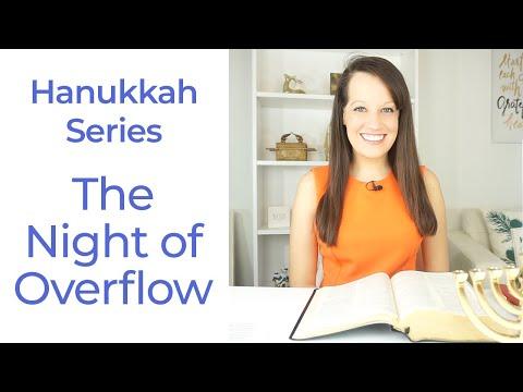 Hanukkah Night 1- Overflow Week