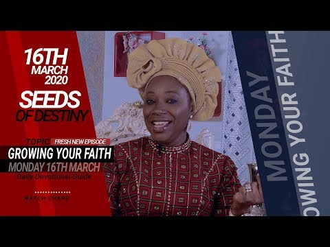Dr Becky Paul-Enenche - SEEDS OF DESTINY - MONDAY, 16 MARCH, 2020