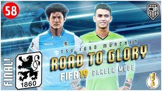 FIFA 19 Indonesia 1860 Munich Road To Glory: Final DFB-Pokal Lawan Hamburger SV #58 (Facecam)