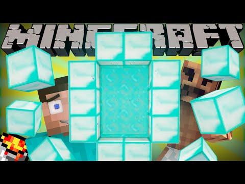 Minecraft PS3, PS4, Xbox, Wii U - Custom Nether Portal Glitch (TU25