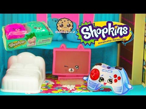 Season 5 Shopkins Petkins Backpack Blind Bag + Play Video - Cookieswirlc - UCelMeixAOTs2OQAAi9wU8-g