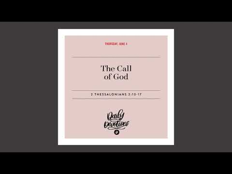 The Call of God - Daily Devotional