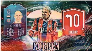 DME SBC ARJEN ROBBEN O RETORNO ( FIM DE UMA ERA ) FIFA 19 O MAIS EM CONTA