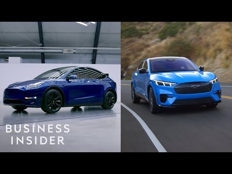 How Tesla's Model Y Compares To Ford's New EV - UCcyq283he07B7_KUX07mmtA