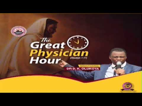 HAUSA GREAT PHYSICIAN HOUR 6TH JUNE 2020 MINISTERING: DR D.K. OLUKOYA