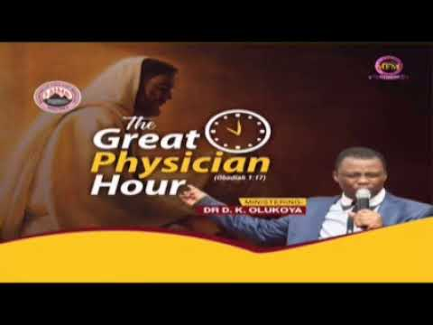 HAUSA  GREAT PHYSICIAN HOUR JANUARY 23RD 2021 MINISTERING: DR D.K. OLUKOYA