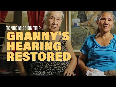 Granny's Hearing Restored  New Creation Church