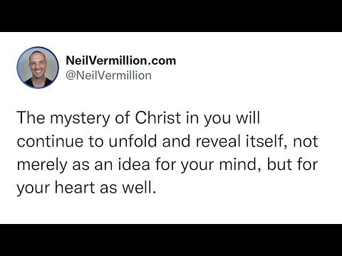Let Go Of Your Preconceived Notions Of Who I Am - Daily Prophetic Word