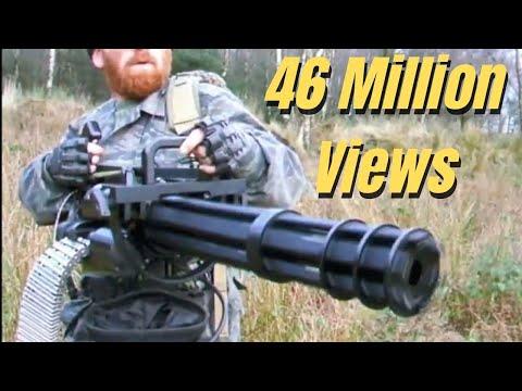 """M134 MINIGUN """"THE FORT"""" AIRSOFT WAR Scotland - default"""