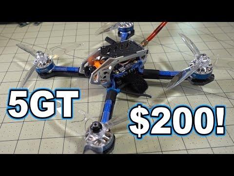 $200 FPV Racing Drone // LDARC KK 5GT Review  - UCnJyFn_66GMfAbz1AW9MqbQ
