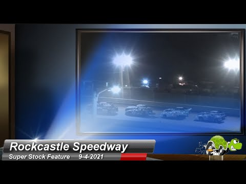 Rockcastle Speedway - Super Stock Feature - 9/4/2021 - dirt track racing video image