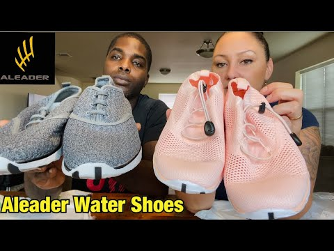 We got the package - Aleader Water Shoes Review | Aleader for water and hiking!