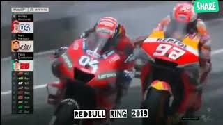 Most dramatic and epic finish   Austrian MotoGP 2019   Race highlights