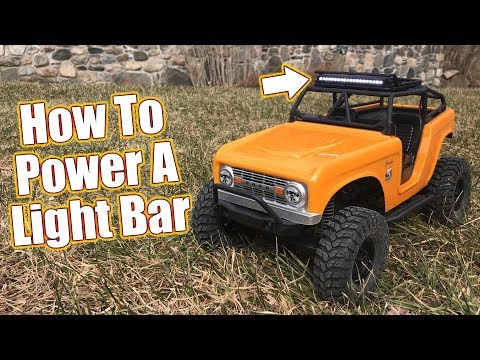 Tips For Adding Lights & Detail To Your RC - Pro-Line LED Light Bar & Roof Rack Install  | RC Driver - UCzBwlxTswRy7rC-utpXOQVA