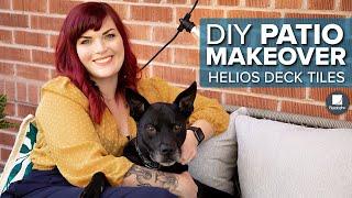 DIY Patio Makeover | Patio Ideas video thumbnail