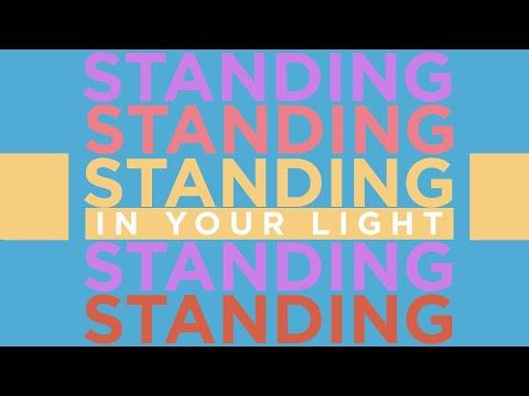 Standing In Your Light - Sarah Kroger (Official Lyric Video)
