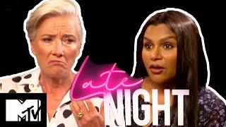 Emma Thompson & Mindy Kaling Take Our Social Media Quiz | Late Night
