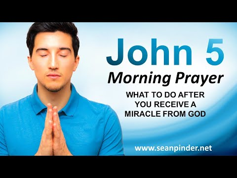 What to do AFTER You RECEIVE a MIRACLE from God - Morning Prayer