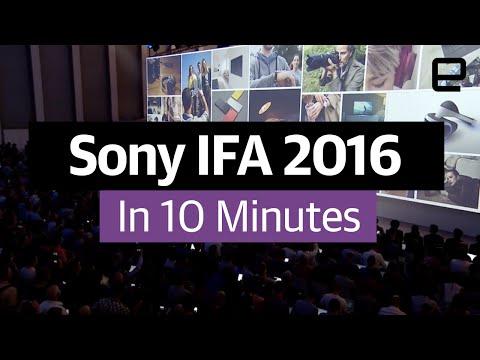 Sony IFA 2016 in 10 minutes - UC-6OW5aJYBFM33zXQlBKPNA