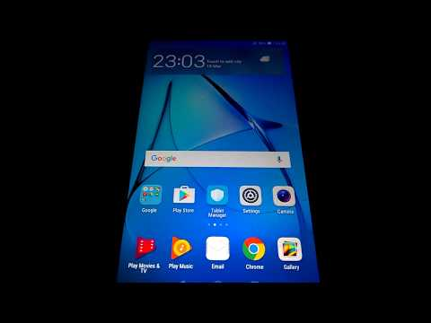 Huawei Mediapad T3 (BG2-W09) FRP Lock Bypass (Factory Reset
