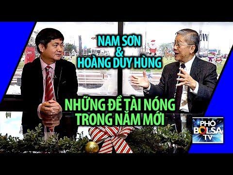 Nam Sơn & Ls Hoàng Duy Hùng: Những đề tài Việt Nam nóng trong năm mới