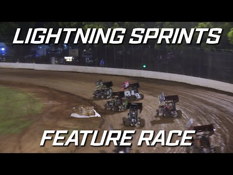 Lightning Sprints: Ron Eager Classic - A-Main - Kingaroy Speedway - 16.10.2021 - dirt track racing video image