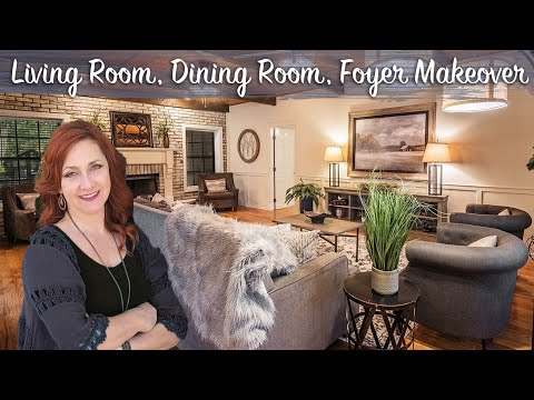 HOME STAGING BEFORE AND AFTER New Orleans | Episode 10 | Living, Dining, Foyer: Cozy Stucco Retreat