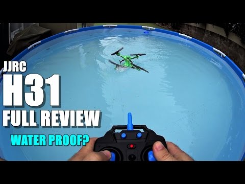 JJRC H31 Waterproof Drone - Full Review - [UnBox, Inspection, Setup, Flight/Water Test] - UCVQWy-DTLpRqnuA17WZkjRQ